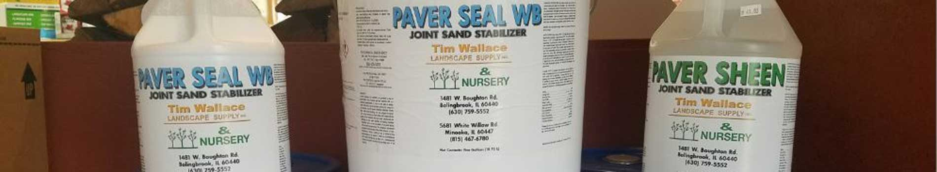 Paver Sealers, Cleaners, Paver Sands and Concrete Sealers